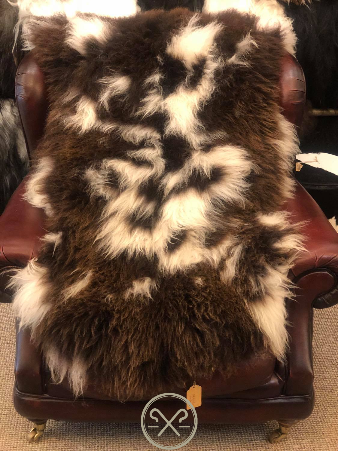 Organic Jacob's Sheepskin Rug