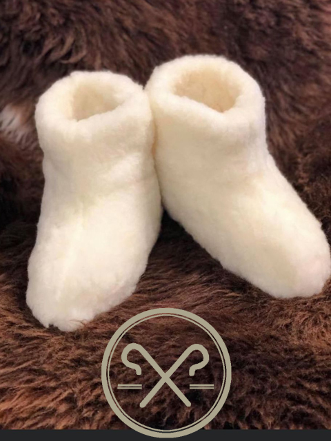 Sheepskin Wool Booties