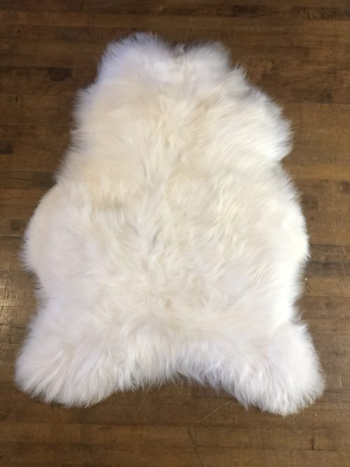 Icelandic Sheepskin Rug natural white