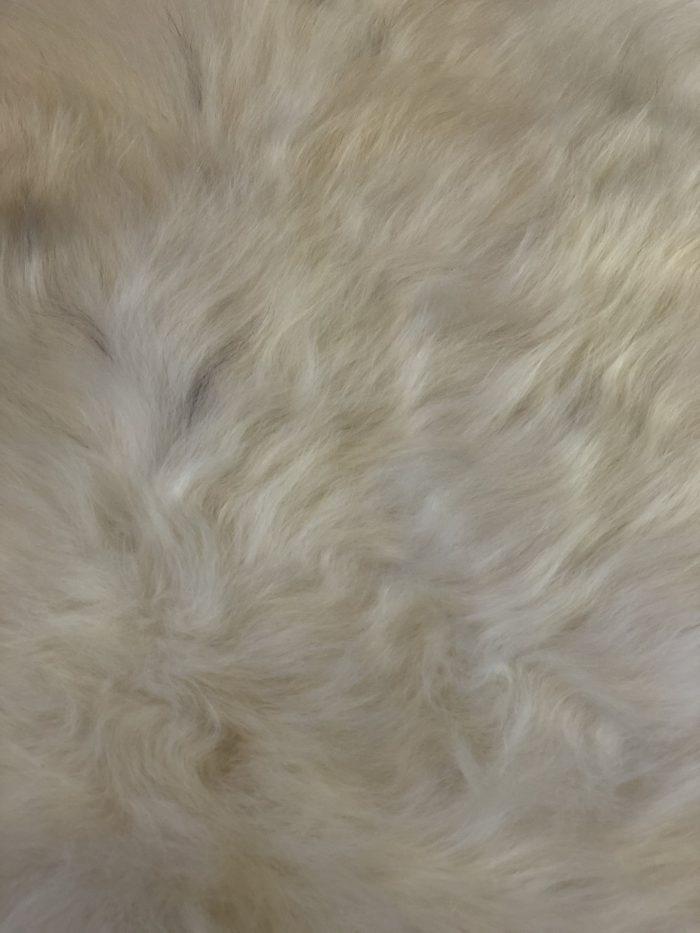 Icelandic Sheepskin Rug natural white