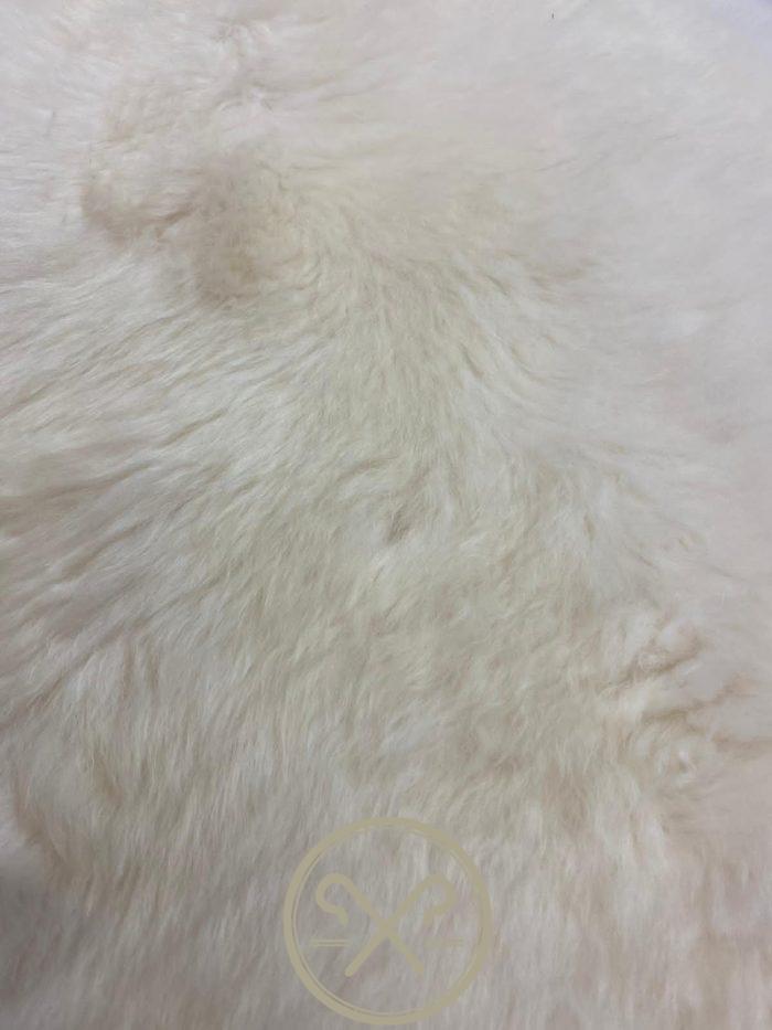 Natural double sheepskin