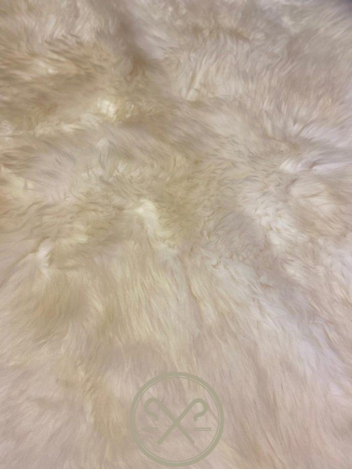 Natural British Quad Pelt Sheepskin Rug