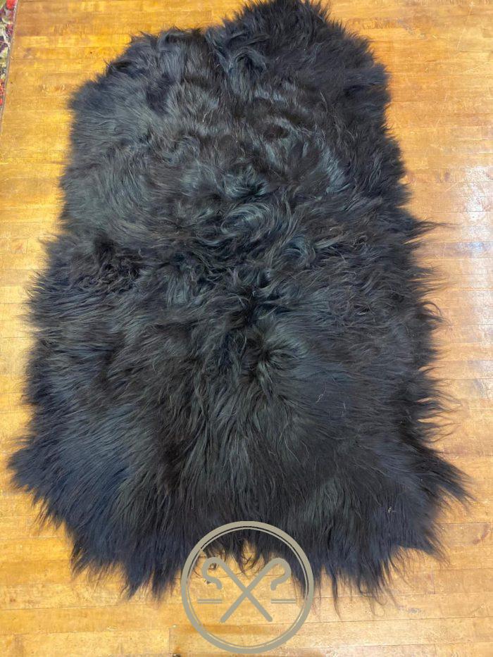 Natural Brown Quad Pelt Icelandic Sheepskin Rug