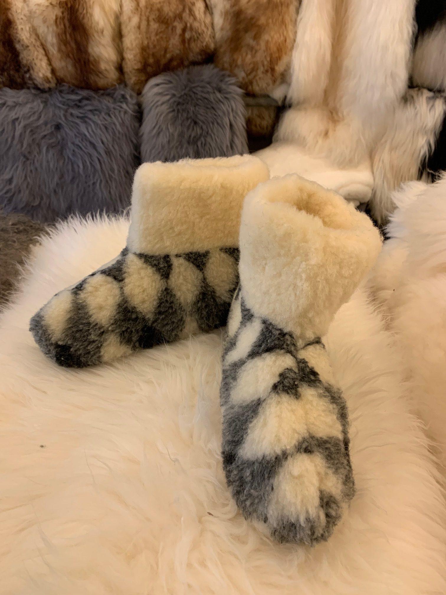Genuine Organic Sheepskin Wool Booties